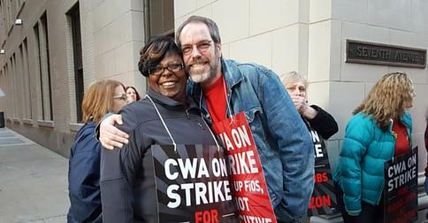 CWA Verizon members in Pittsburgh, PA.