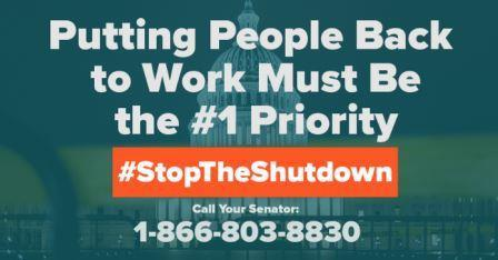 Putting People Back to Work Must Be the #1 Priority #StopTheShutdown